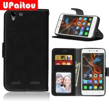 Buy UPaitou Frosted PU Leather Case Lenovo Vibe K5/K5 Plus A6020 Wallet Case Lenovo K5 A6020a40/Lemon 3 A6020a46 Flip Cover for $3.79 in AliExpress store
