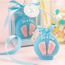 30pcs it is a girl / boy candle baby shower baptism party favor children birthday gift present Christmas WA2346