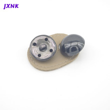 20pcs/lot 36L 22.5mm mushroom design metal Brass  buttons for garment Vintage button to sew DIY accessories Bright Black nickel