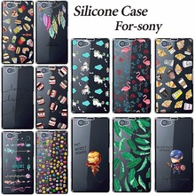 New Fashion Cover Cases For Sony Xperia Z1 Compact Z1 Mini D5503 M51W Soft Silicone TPU Phone Cases For Sony Xperia Z1 Compact