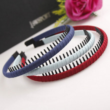 Hot Sale! New Fashion Korean Basic Plastic Hairbands Handmade Coiling Leisure Headbands Girls Women Basic Hair Accessories
