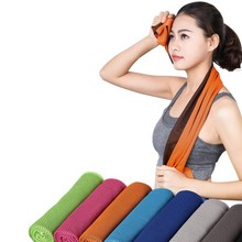1 Piece Summer Cooling Sports Towel Outdoor Towel Microfiber Fabric Quick-Dry Ice Towels Running Fitness Yoga Climbing Exercise(China)
