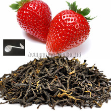Beautiful Tea strainers+gift Fragrant Strawberry Flavor Black Tea,Hongcha,Early Spring Fruit flavor Black Tea,CTX407