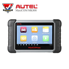 Autel MaxiCOM MK808 MX808 MD808 Automotive Diagnostic Scanner with EPB/SAS/DPF Service Code Reader Seven-inch Touchscreen(China)