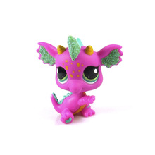Pet Shop Animal Pink Dragon Fairies Figure Child Doll Child Toy(China)