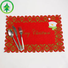 Xmas Home Table Placemat Setting Place Mat Christmas Decoration Serving Mats Dining Eating Pads(China)