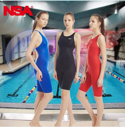 NSA Swimwear Women One Piece Swimsuit Competitive Bathing Suit For Girls Racing Swimsuits One Piece Badpak Diving Beach Wear <br>