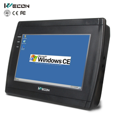 Wecon 7 inch industrial touch panel pc LEVI-700E Built-in wince 5.0