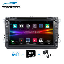 Android 4.4.4 car dvd player 1024*600 for VW Volkswagen POLO GOLF PASSAT CC JETTA TIGUAN TOURAN Bora Caddy EOS gps radio