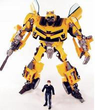 BOHS Robot  Human Alliance Bumblebee and Sam Witwicky Action Figures Classic Anime Cartoon Toys for  Boy