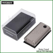 Original Wismec Noisy Cricket II-25 Box Mod Vape Powered Dual 18650 Cells Updated Noisy Cricket Mod Wismec E-cigarette
