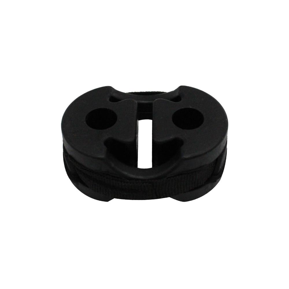 KKmoon Soporte universal de goma para tubo de escape de coche para Fiat Ducato Citroen