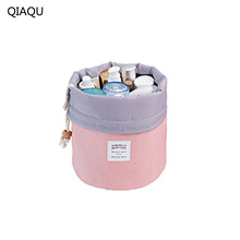 QIAQU Vanity Pouch Necessaire Trip Beauty Women Travel Toiletry Kit Make Up Makeup Case Organizer Cosmetic Bag for Beautician(China)
