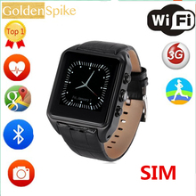 "X01 plus Smart watch 1.54""Display MTK6572 Android 5.1 Dual Core 1GB + 8GB Bluetooth Android phone support wifi GPS sim card 3G"