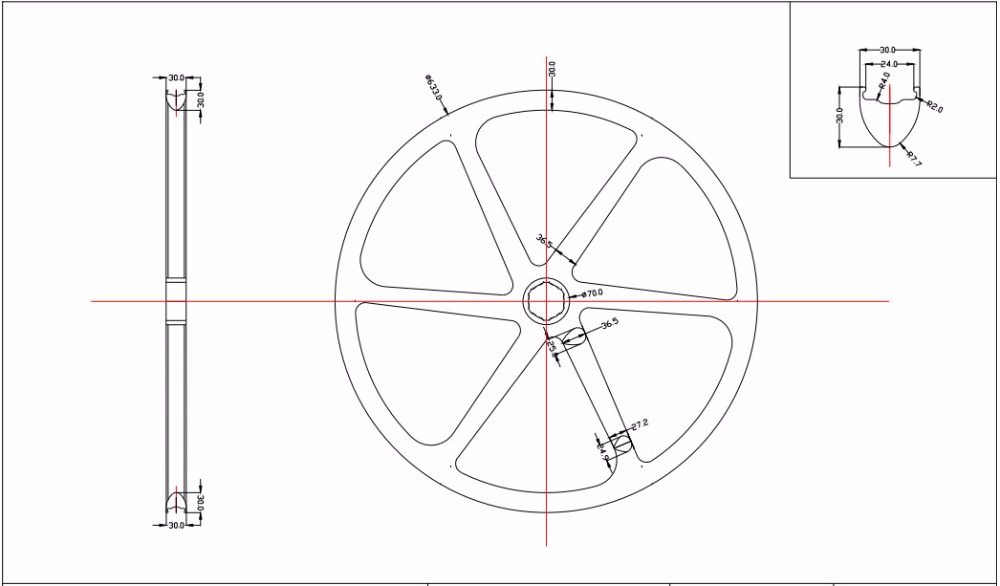 DW6-29 geometry
