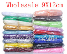 Wholesale 500pcs/lot,Drawable Organza Bags 9x12cm,Wedding Gift Bags,Jewelry Packing Bags,Wedding  Pouches