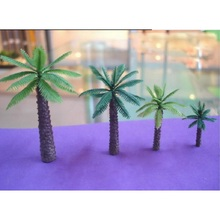4 Pcs / Set Garden Planning Model Material Palms Sand Table Model Trees Hot Selling