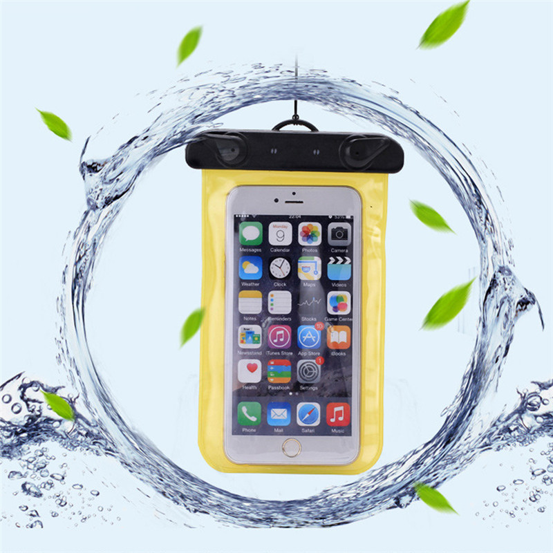 Super Seal Waterproof Underwater Mobile Phone Case Bag Pouch for iPhone 4s 5s 5c SE 6 6s 7 Plus for Samsung Galaxy S4 S5 S6 S7(China (Mainland))