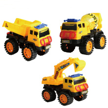 Engineering car toys vehicle sliding excavator blender dump truck model Car Dump Truck Artificial Model Toys For boy kids hl0222