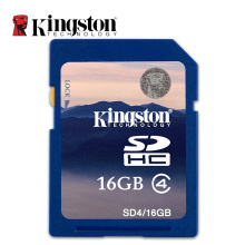 Kingston C4 SD Card 8GB 16GB SDHC Camera Card  Class 4 Memory Card Free Shipping 8 GB 16 GB
