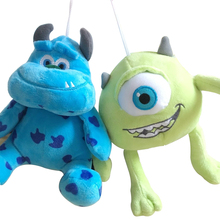 1pc 20cm Monsters Inc Monsters University Monster Mike Wazowski or James P. Sullivan Plush Toy for Kids Gift(China)