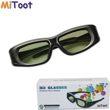 Mitoot Active 3D bluetooth RF Glasses Eyewear for Sony/Epson LCD 3D Projectors tw5200/tw8515/tw6510/tw3020/tw550/tw5300/TW5020UB(China)