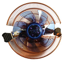 Durable 22dBA 12V DC CPU Cooler Fan PC Radiator Computer Heat Sink 4 Tubes for AMD for Intel