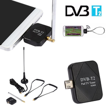 1pcs Mini Micro USB DVB-T Digital Mobile TV Tuner Receiver for Android 4.1 Above Hot Worldwide