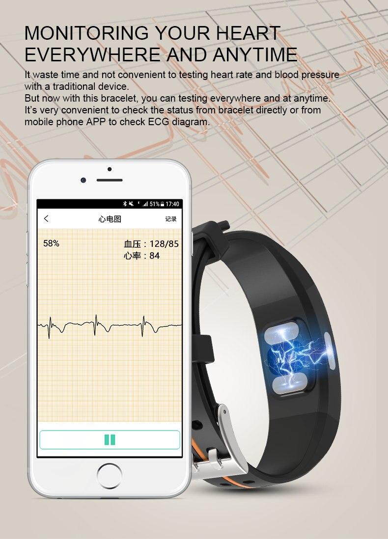 Waterproof Smart Bracelet 8