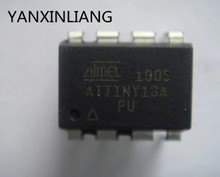 10Pcs/lot Atmel DIP-8 MCU ATTINY13A ATTINY13A-PU AVR Microcontroller Flash 20MHZ For IC Chip