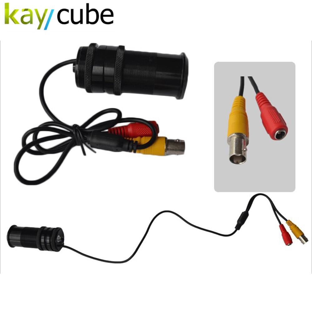 Kaycube 10 Led Lights 1/3 SONY CCD 700TVL Wired Mini Night Vision Cat Eye Door Camera IR Doorview Security Camera<br>