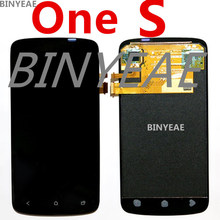 BINYEAE For htc One S  LCD Z520e Z560e G25 display screen with touch screen digitizer assembly full set lcd+thouch Free shipping