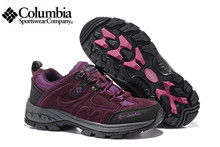 2016 Columbia Redmond Women High Hiking Shoes,Waterproof Hiking ShoeS,Comfortable Breathable Genuine Leather sports Shoes
