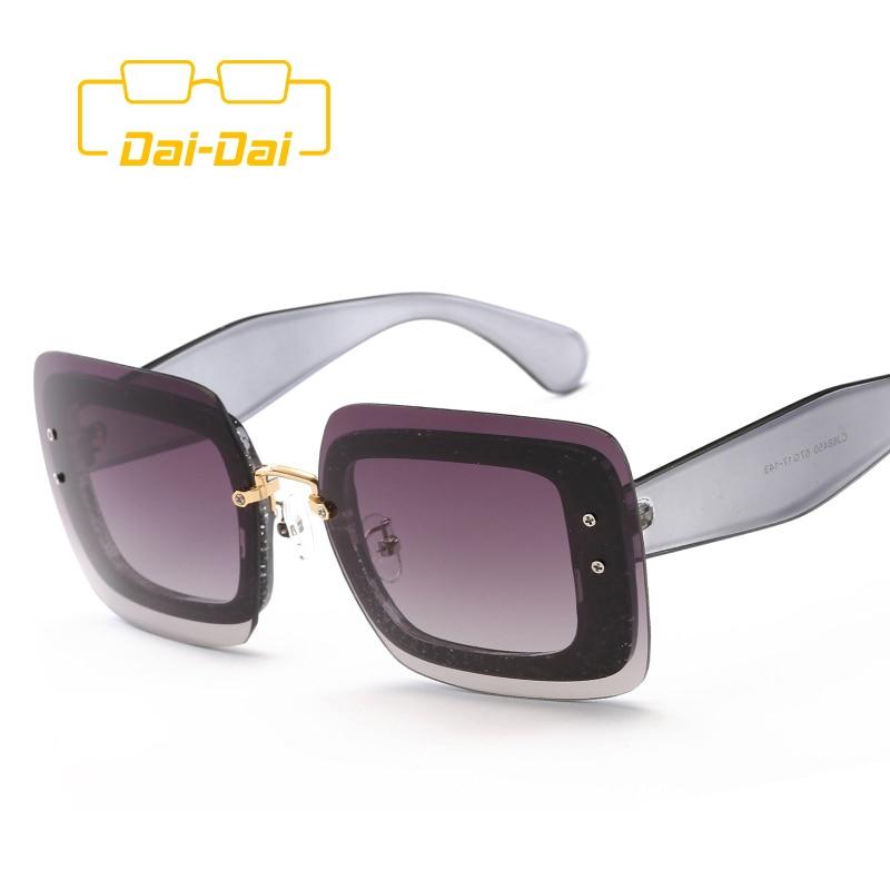 Известный Европейский Дешевые Модные Женские Солнцезащитные Очки Бренд Дизайнер Хиппи Женщины Япония DAI-DAI Óculos de sol UV400 Круглый Длинное Лицо(China (Mainland))