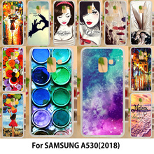 AKABEILA Case For Samsung Galaxy A5 2018 Cases Silicone TPU Soft Covers Duos with dual-SIM card slots A530F A530F/DS Housings(China)