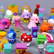 50pcs /set Not Repeating Cute Rubber Material Fruit Models Action Toy Figures Change Season 3 4 5 6 7 Kids Toys Boys Girls(China)