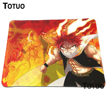 Hot direct selling Fairy Tail Animation Mouse Pad DIY Printing Pattern Optical Gaming Anti-slip Mouse Mat Lock Edge Pads