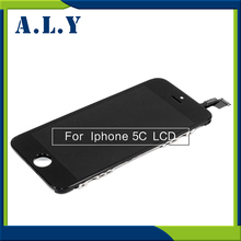 10pcs/lot Free DHL + Tracking No. 100% tested For iPhone 5C LCD screen Display Digitizer Assembly - White/Black