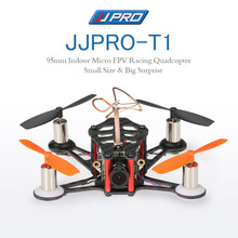 JJRC JJPRO-T1 95mm Micro FPV Racing Quadcopter Base F3 Brushed Flight Controller Frsky Receiver Compatible Frsky Taranis X9D BNF