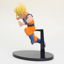 19cm Anime Dragon Ball Z DBZ figure Super Saiyan Son Goku figure toys pvc action model doll