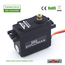 4pcs/lot DM-S2000MD DOMAN RC hobby metal gear 20kg digital rc servo
