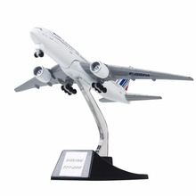 13cm Metal Aircraft Plane Model Air France B777 Airways Boeing 777 Airlines Airplane Model Wheels Stand Gift Free Shipping