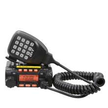 Mini Mobile Transceiver QYT KT8900 20W Dual Band VHF UHF MINI Mobile Radio Car Walkie Talkie CB Ham Radio For Car Jeep Truck