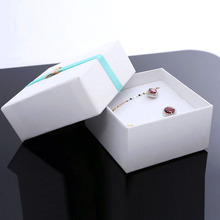 HIGH QUALITY Fashion Jewellery Paper Boxes for Ring 50pcs/lot Wedding Jewelry Boxes Gift Love Pedant Packaging 8.5*8.5*4.5cm