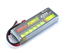 11.1v 4200mAh 30C LiPo Battery 3S lipo battery rc helicopter rc car rc boat quadcopter remote control toys Li-Polymer battey