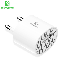 FLOVEME Mini USB Charger Universal 5V/1A Portable Wall Travel Charger Fast Charge USB Mobile Phone Chargers For iPhone 5s 6 7 8
