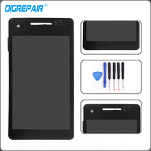 lt25i display Black For Sony Xperia V LT25 LT25I LCD display touch screen with digitizer Assembly Replacement Parts Free tools(China)