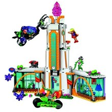 Super Heroine High School 719 Pcs Bricks Set Sale DC Power Girls 41232 Building Blocks Toys For Children Compatible with Lepin