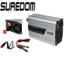 SUREDOM 12v 220v 500w peak 1000w power inverter modified sine wave inverter car power inverter doxin inverter with usb port