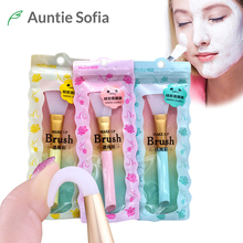 Facial Mask Brush Silicone Mud Brush DIY Mask Skin Care Essential 1pc Makeup Brush DIY Face Mud Brush Skin Care Tools(China)